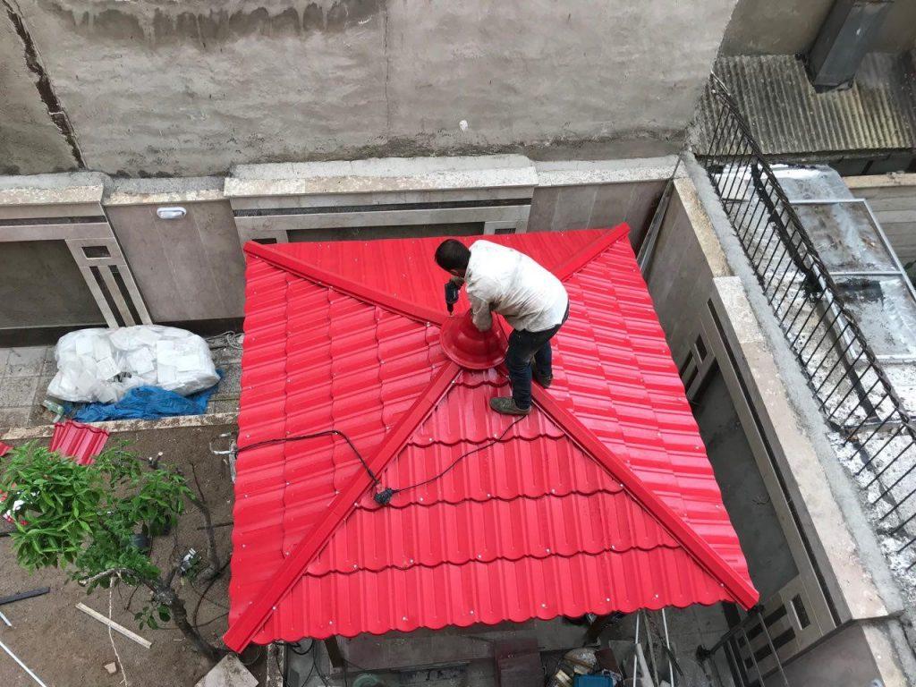 ساخت و نصب آلاچیق