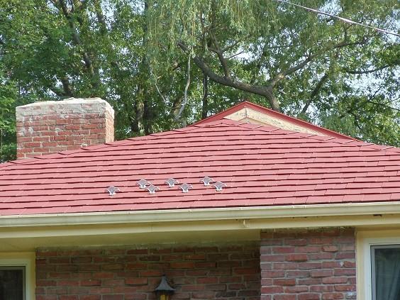 سقف شیروانی گالوانیزه