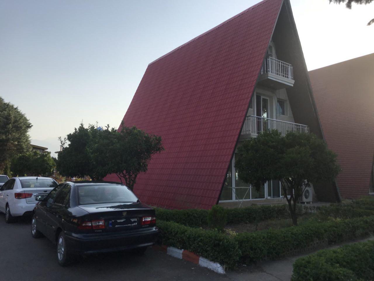 سقف شیروانی طرح سفال