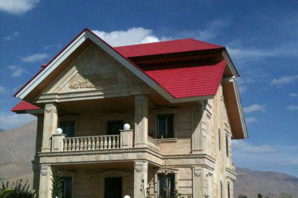 سقف شیروانی1