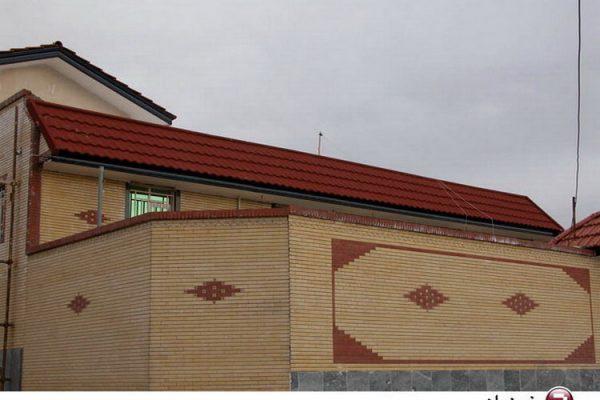 پیشانی ساختمان
