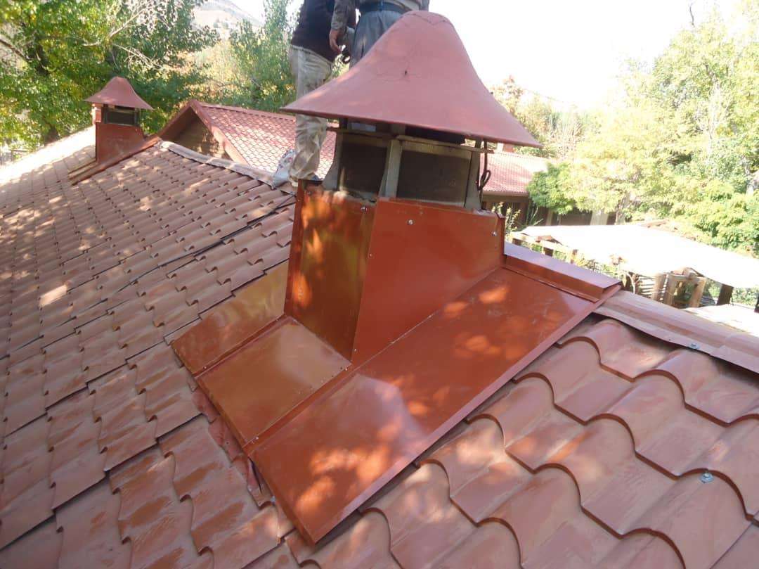 دودکش سقف شیروانی